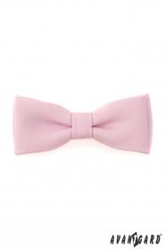 Rózsaszín anyagos csokornyakkendő