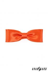Narancssárga dupla csokornyakkendő