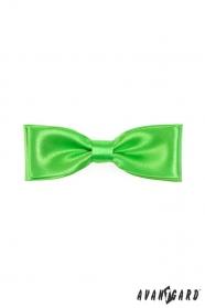 Fénylő zöld csokornyakkendő