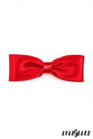 Piros férfi csokornyakkendő KLASIK