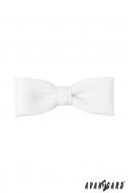 Fehér csokornyakkendő Classic 10 cm