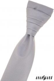 Szürke strukturált francia nyakkendő