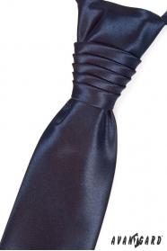 Kék francia nyakkendő 9012