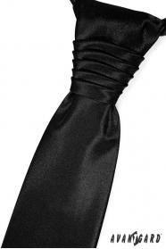 Elegáns fekete esküvői nyakkendő