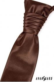 Csokoládé barna esküvői nyakkendő