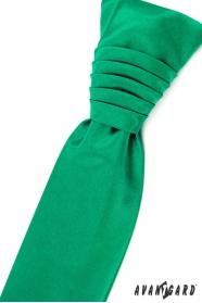 Smaragd zöld esküvői nyakkendő