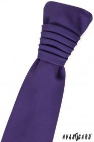 Francia nyakkendő lila 9824