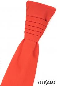 Sötét narancssárga francia nyakkendő