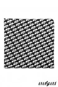Geometria mintás díszzsebkendő