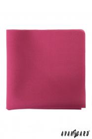 Sötét rózsaszín színű díszzsebkendő