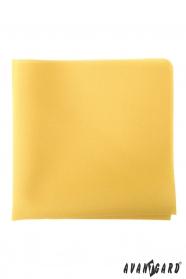 Sárga díszzsebkendő