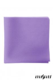 Férfi díszzsebkendő lila színű