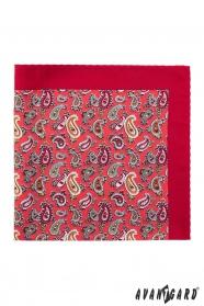 Hagyományos piros díszzsebkendő