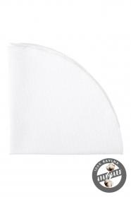 Fehér pamut díszzsebkendő