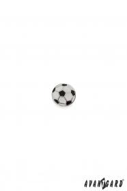 Öltöny kitűző - Futball-labda