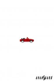 Öltöny kitűző - Kis piros autó