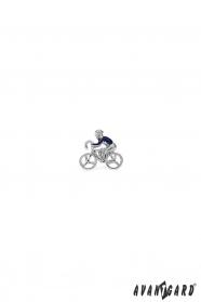 Öltöny kitűző - Kerékpáros
