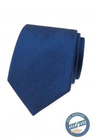 Elegáns kék selyem nyakkendő