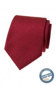 Selyem nyakkendő bordó