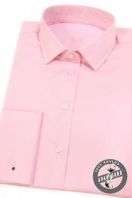 Rózsaszín női ing francia mandzsettával