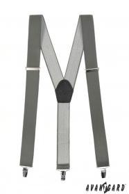 Grafit nadrágtartó Y-alakú 3-klip tartó