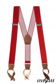 Férfi nadrágtartó piros színű 1263