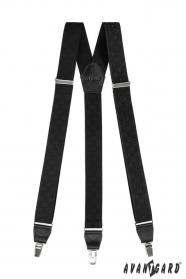Férfi nadrágtartó fekete színek 2305