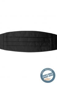 Fekete férfi selyem övkendő