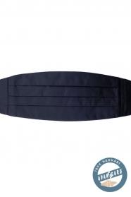 Navy kék selyem övkendő