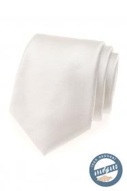 Finoman krémes színű, selyem nyakkendő ajándékdobozban
