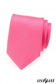 Matt nyakkendő, rózsaszín színben