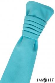 Esküvői türkiz matt nyakkendő