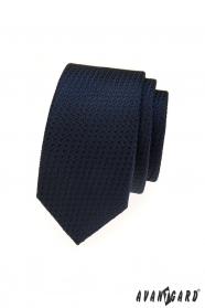 Kék strukturált Avantgard nyakkendő