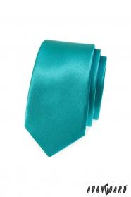 Keskeny türkiz nyakkendő
