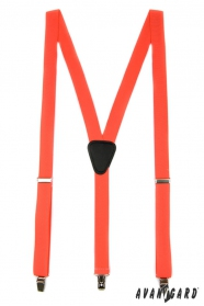 Narancs nadrágtartó Y-alakú 3-klip tartó