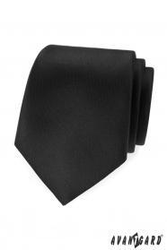 Fekete, matt Avantgard nyakkendő