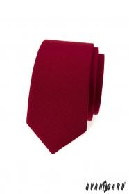 Burgundia keskeny nyakkendő