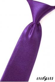 Lila fényes fiú nyakkendő