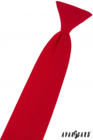 Fiú nyakkendő matt vörös