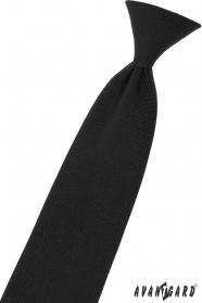 Fekete fiú nyakkendő 44 cm