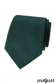 Zöld, mintás Avantgard nyakkendő