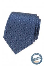 Luxus selyem nyakkendő színes mintával