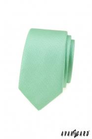 Menta zöld keskeny nyakkendő
