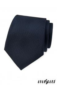 Sötétkék strukturált nyakkendő