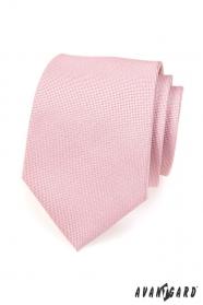 Világos rózsaszín nyakkendő por hangon