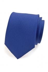 Kék matt nyakkendő