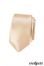 Keskeny nyakkendő Ivory színű
