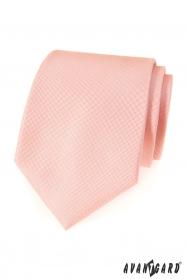 Finoman lazac színű Avantgard nyakkendő