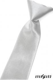 Ezüst fényes fiú nyakkendő