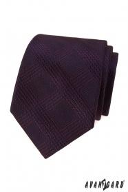Férfi nyakkendő bordó csíkokkal